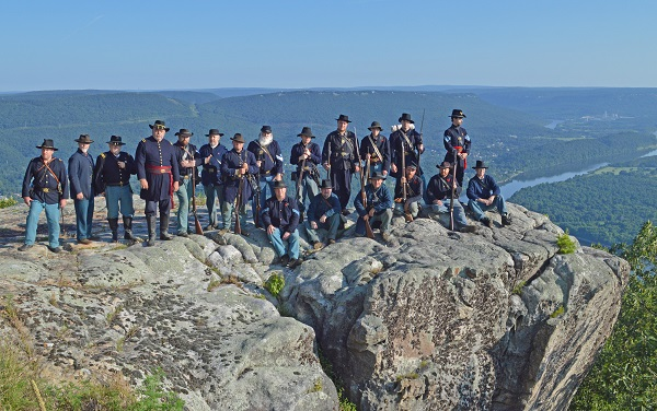 GDRA Infantry at Lookout Mountain